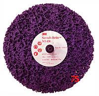 3М™ 05815 Scotch-Brite™ Clean&Strip XT-ZR Purple™ - Круг с креплением Roloc+ 125х13, XCRS, пурпурный