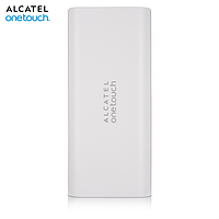 Внешний аккумулятор Alcatel 10400mAh DUAL USB PB80 Docking Station Power Bank (White)