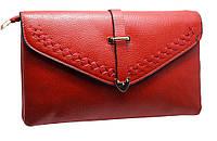 Модный женский клатч H6002 red