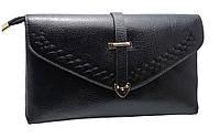 Модный женский клатч H6002 black
