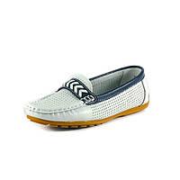Мокасины женские QShoes 115115 белые