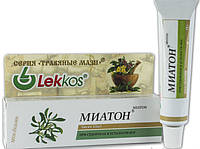 При судорогах и усталости ног крем-бальзам Миатон Леккос 15 г