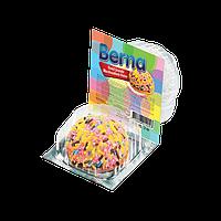 Печенье с маршмеллоу и разноцветными гранулами BERNA Simsek, 18 гр