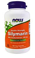 Silymarin, екстракт розторопші плямистої;100 капсул, При захворюваннях печінки