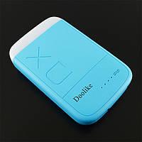 Резервний акумулятор Doolike XD-04 8000 mAh, блакитний, блакитний, Синій, УМБ, Power Bank, павер банк
