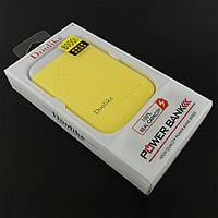 Резервний акумулятор Doolike XD-04 8000 mAh, жовтий, жовтий, yellow, УМБ, Power Bank, павер банк