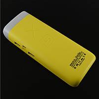Резервний акумулятор Doolike XD-05, 10000 mAh, жовтий, жовтий, yellow, УМБ, Power Bank, павер банк