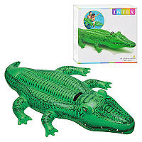 Плотик 58546 (12шт) крокодил, 168-86см, ручка, до 40 кг, рем компл, в кор-ке, 20-19-5,5см