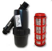 Сетчатый фильтр для капельного полива 1725 S-120, 3/4 дюйма, 120 меш, 3 атм, 2-3 м³/ч
