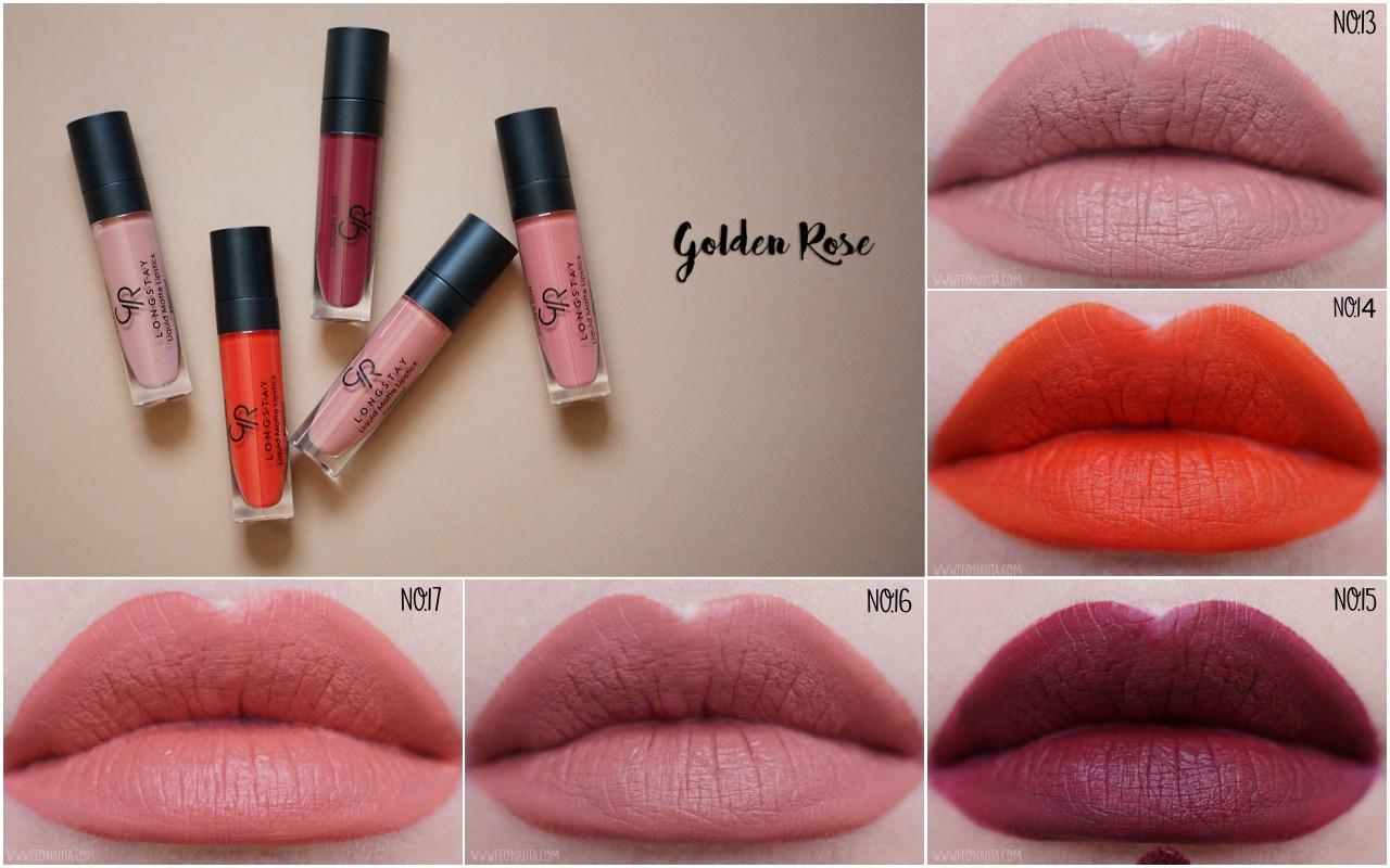 опт матовая жидкая помада для губ Golden Rose Longstay Liquid Matte
