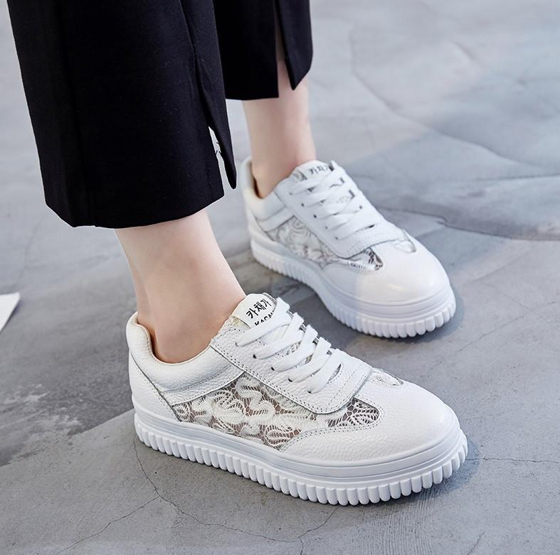 857d842cc7d1 Кожаные спортивные туфли с кружевом: продажа, цена в Чернигове. туфли  женские от ...