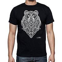 Bear Abstract-Футболка Мужская с Дизайном