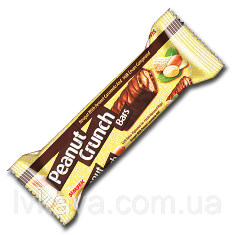 Шоколадный хрустящий  батончик Peanut Crunch Simsek , 22 гр, фото 2