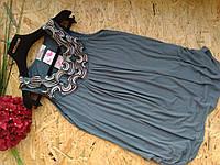 Блузка туника Кристи 13453 дымка 42-48р
