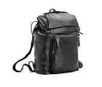 Рюкзак кожаный TIDING BAG T3067 черный