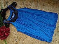 Блузка туника Лиза 13443 электрик 42-48р