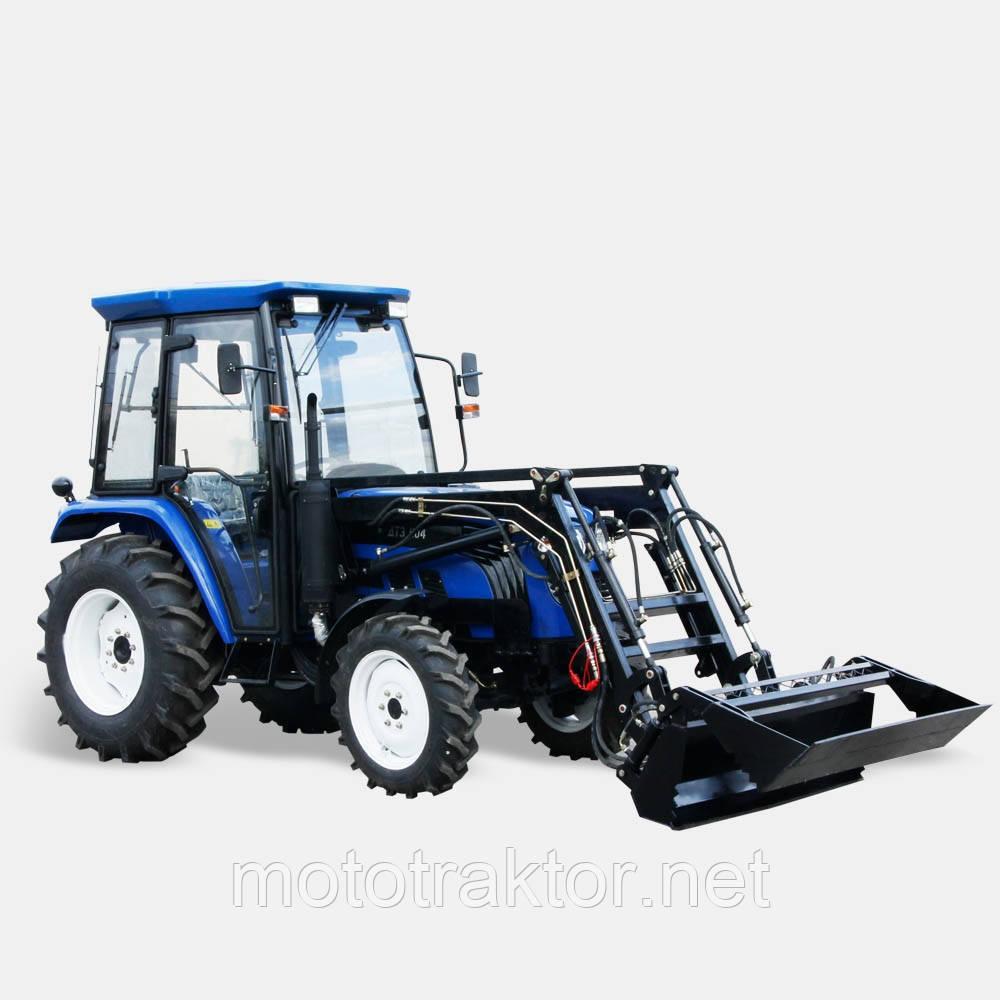 Навантажувач фронтальний двухчелюстной ПФ400-2 (до трактора ДТЗ 404.5/404.5 С)