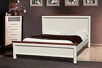 Кровать деревянная двуспальная Беатрис 1,6 м