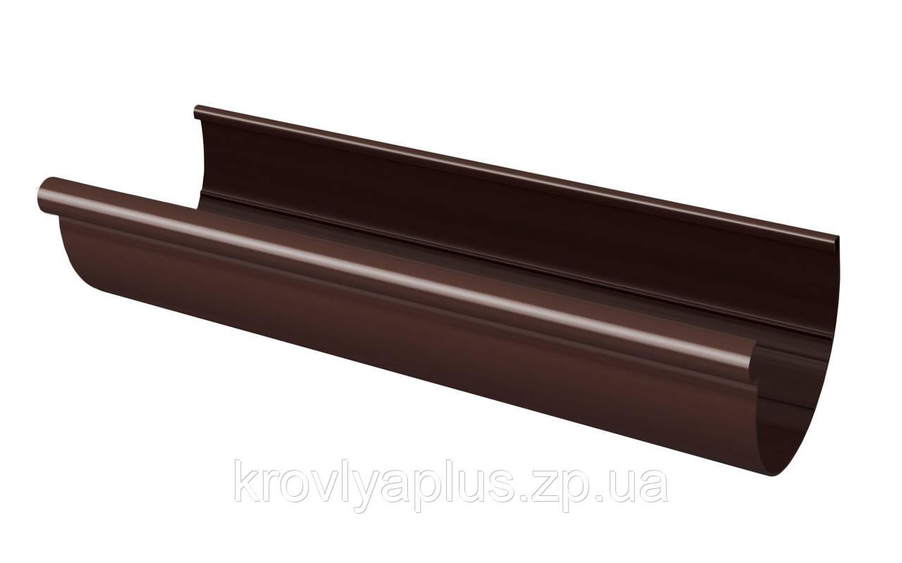 Желоб водосточный  130 коричневый,3 м,(Rainway Украина)
