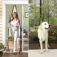 Москитная сетка на дверь большая