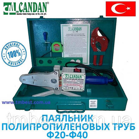Паяльник для пластиковых труб Candan CM-06 Турция 1500 W оригинал, фото 2