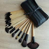 Набор кистей для макияжа 24 штуки