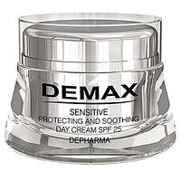 Защитно – успокаивающий крем  Protective and soothing day cream SPF 25,Demax , Япония,50мл
