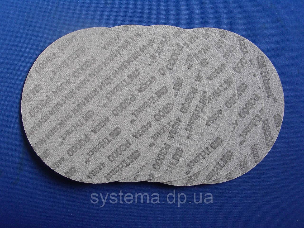 Абразивный полировальный круг ∅ 75 мм, P3000 - 3M 50415 Trizact 443 SA Hookit