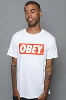 Футболка Obey White