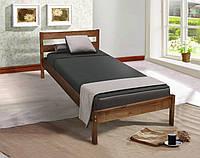 Полуторная Деревянная Кровать подростковая Sky-1 коньяк, фото 1