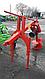 """Бур садовый для трактора """"Wirax"""" 1S-40 (диаметр 40 см), фото 4"""