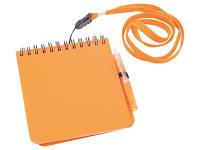"""Блокнот А6 """"Журналист"""", оранжевый"""