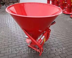 Разбрасыватель удобрений Jar-Met 500 + кардан (бункер металл)