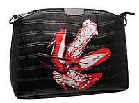 Стильная сумка 323 light shoes black