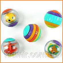 Развивающие игрушки Сенсорные шарики Тряси и вращай Bright Starts