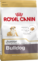 Сухой корм для щенков породы бульдог в возрасте до 1 года Royal Canin Bulldog Junior 3 кг.