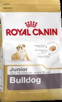 Сухой корм для щенков породы бульдог в возрасте до 1 года  Royal Canin Bulldog Junior 12 кг.