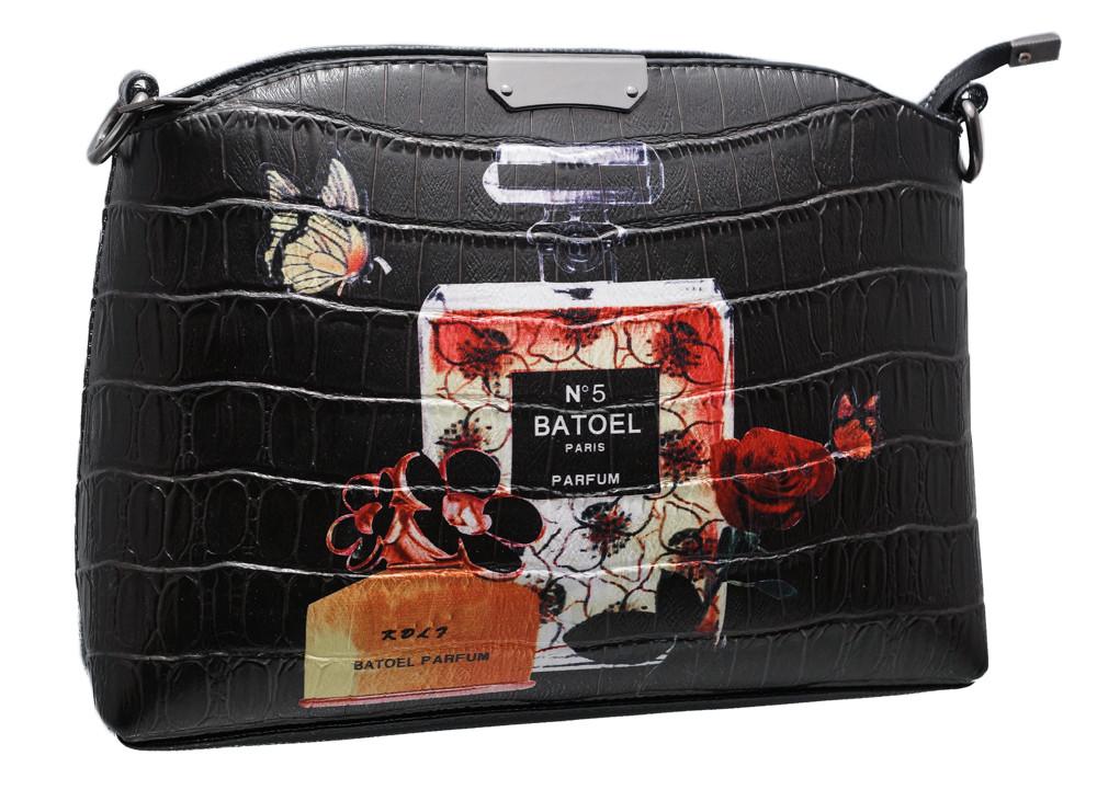 Стильная сумка 323 perfume black