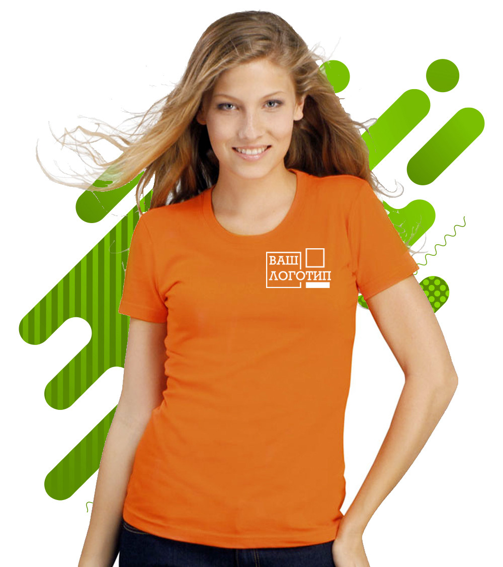 Женская  футболка IMPERIAL WOMEN с нанесением логотипа, 16 цветов, код 11502