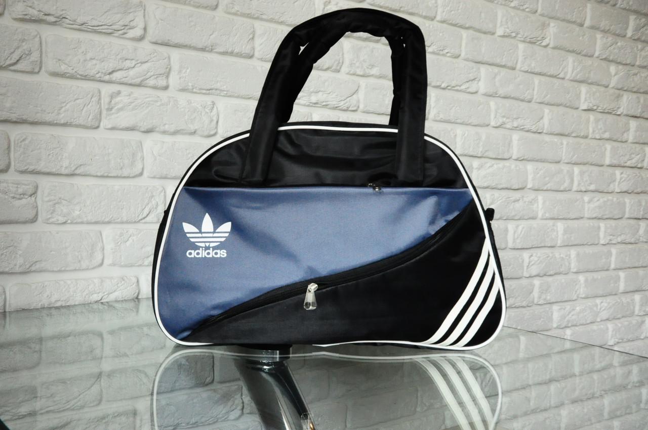 9bbcebbea37c Спортивная сумка Adidas модель MB-2. (серый+черный) . Лучшие цены ...