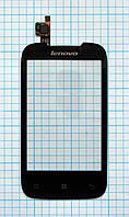 Тачскрин сенсорное стекло для Lenovo A360 black
