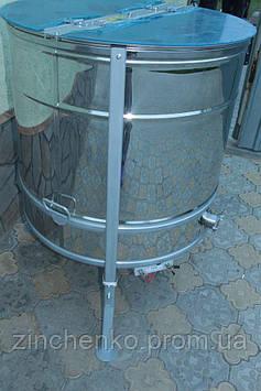 Медогонка радиальная 20Д/20Р/40П нержавейка(сталь304), кр, с блоком питания, крышкой, подставкой, эл.приводом