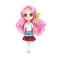"Кукла SHIBAJUKU серии ""Мини"" - ЮКИ (15 см, 6 точек артикуляции, с аксессуаром)"