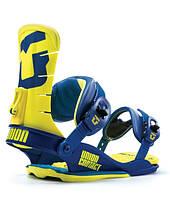 Крепления для сноуборда Union Bindings Contact Blue/Yellow