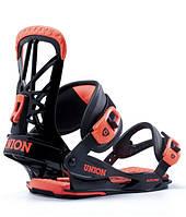 Крепления для сноуборда Union Bindings Elite Pro Black/Orange