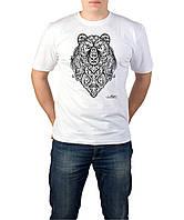Bear Abstract - Футболка Мужская с Дизайном