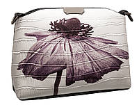 Стильная сумка 323 flower white