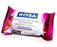 Мыло Nivea Тропические фрукты и молочные протеины 90г
