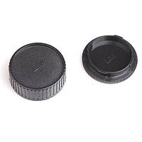 Крышка камеры + задняя крышка объектива Leica M LM