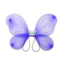 Крылья Бабочки маленькие сиреневые 38х29 см